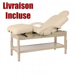 Table de Massage Fixe 4 plans PRO