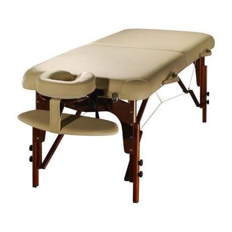 Table de Massage Confort Pro Wengé - Photo réelle