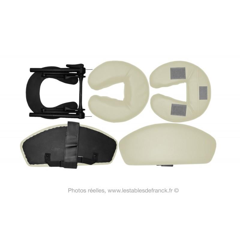 kit t ti re pour table de massage ou chaise de massage. Black Bedroom Furniture Sets. Home Design Ideas